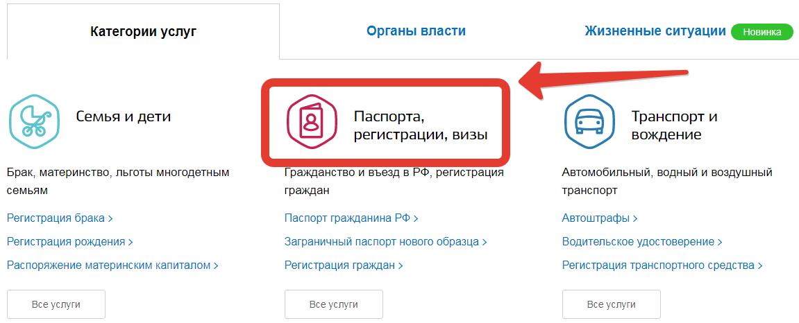 Приглашение иностранца в Россию через Госуслуги шаг 2