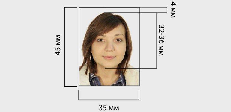 Размер Фото На Заявление Загранпаспорт - …